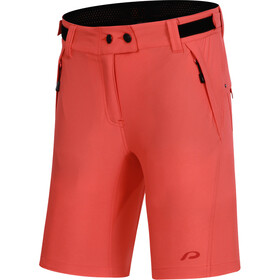 Protective P-After Hour Cycling Shorts Women, fiery coral